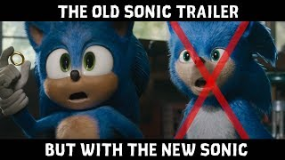 Old Sonic The Hedgehog Trailer but with the New Sonic