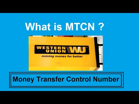 Money Transfer Control Number|| What Is MTCN Number||Western Union Payment