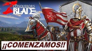Gambar cover CONQUEROR'S BLADE - COMENZAMOS - ¡¡ABANDERADOS ACUDID A LA LEVA!! (Casa del Canal)