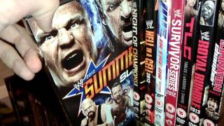 WWE DVD/Blu-ray Collection update
