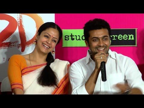 Suriya & Jyothika Are Pairing Up In A Tamil Movie In 10 Months - Suriya Announces - 36 Vayadhinile