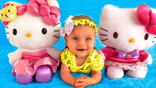 The Three Little Kittens Nursery Rhyme song for kids by Maya and Mary
