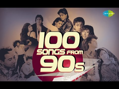Top 100 Songs From 90s  90s के हिट गाने  HD Songs  One Stop Jukebox