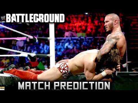 WWE Battleground 2013: Randy Orton Vs Daniel Bryan Match Prediction Travel Video