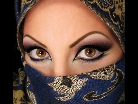 Arabic Eye Makeup - YouTube Arabian Women Eyes