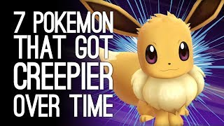 7 Pokemon That Got Way Creepier Over Time