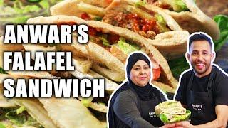 The Perfect Falafel Sandwich   Anwar's Kitchen