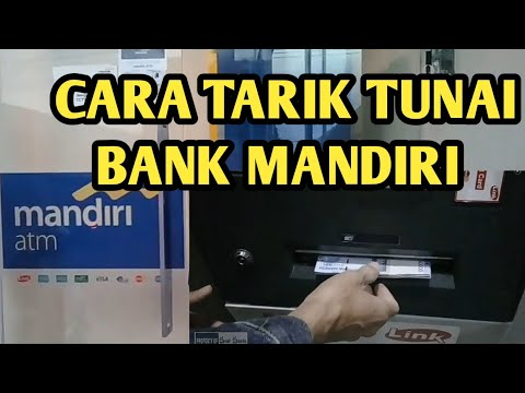 Cara Tarik Tunai Rekening Bank Mandiri di Gerai ATM Mandiri