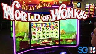 World of Wonka Slot Machine from Scientific Games