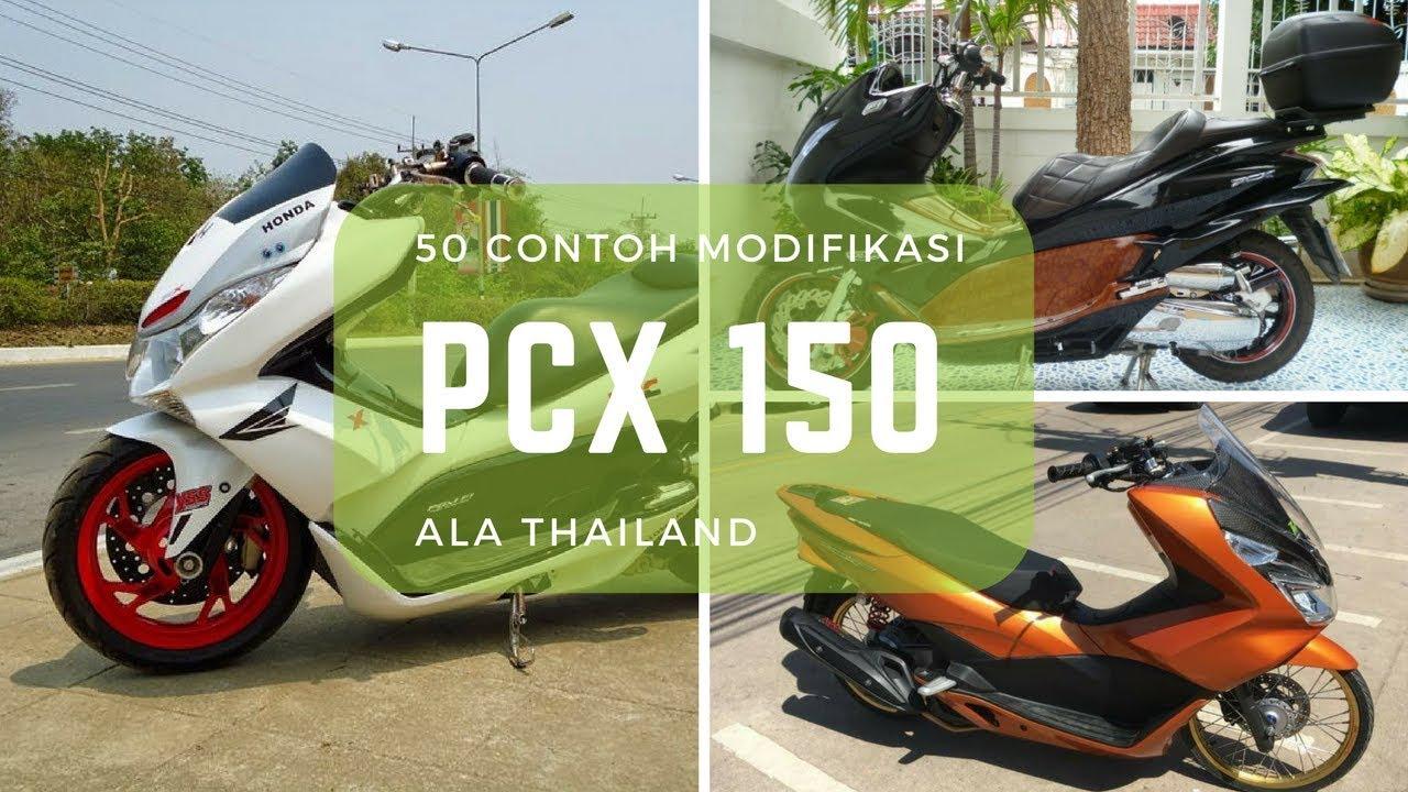 Koleksi 78 Modifikasi Motor Honda Pcx 150 Terbaru Pojok Otomania