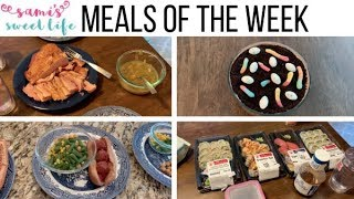 MEALS OF THE WEEK + RECIPE LINKS | WHAT'S FOR DINNER, FAMILY OF 3 WITH PRESCHOOLER