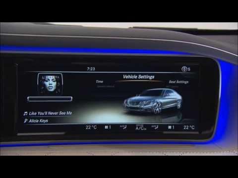 Mercedes-Benz 2014 S-Class - COMAND Online HD Trailer