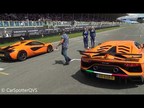 Lamborghini Aventador SV-J DRAGRACE VS. Huracan Performante, McLaren 570S, Turbo S, GTR Etc!