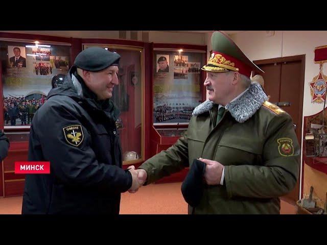 Лукашенко приравнял змагаров-майдаунов к нацистам