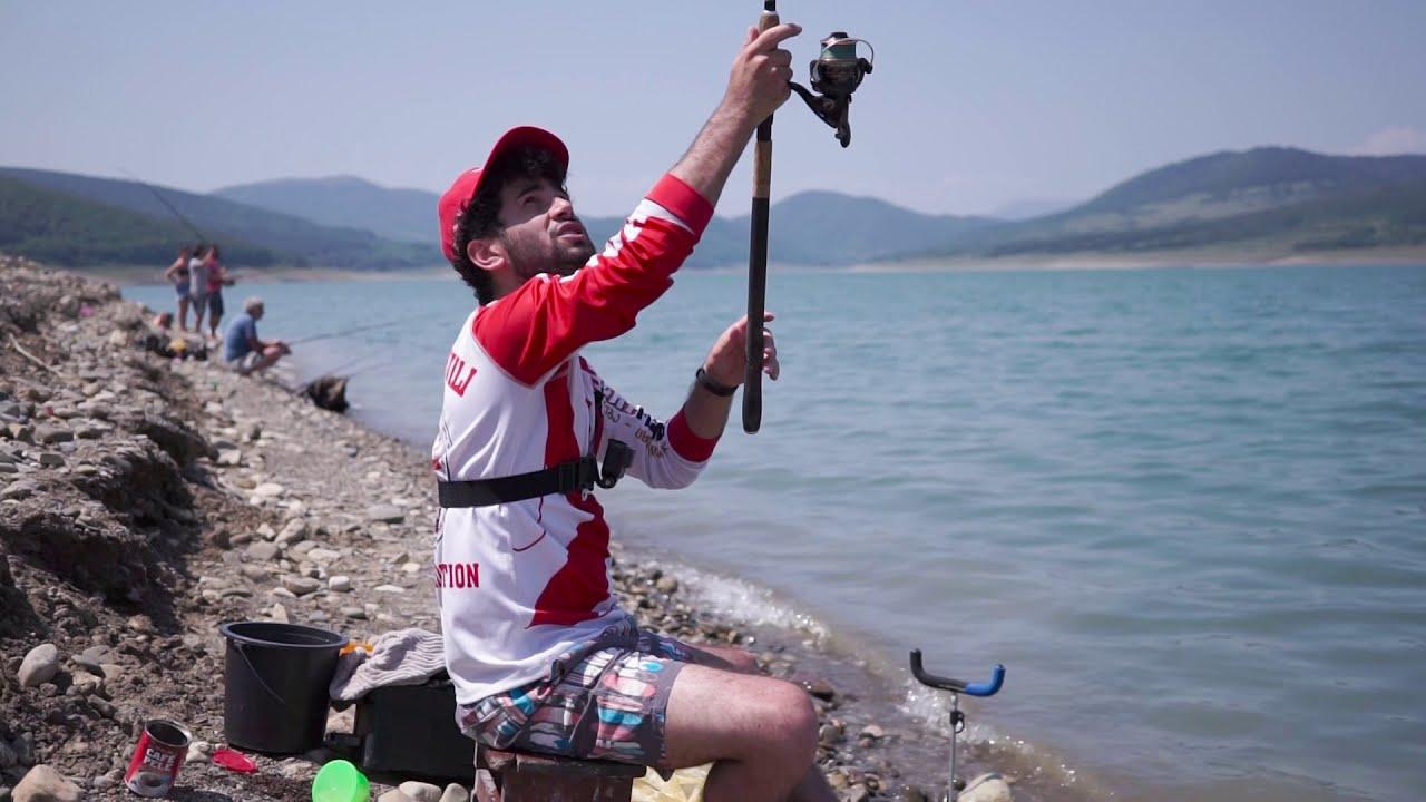 თევზაობა და ექსპერიმენტები სიონის წყალსაცავზე