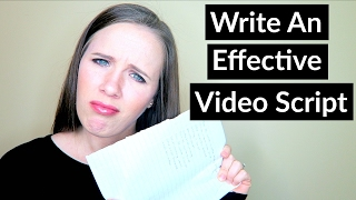 How To Write A Video Script - Video Script Tutorial