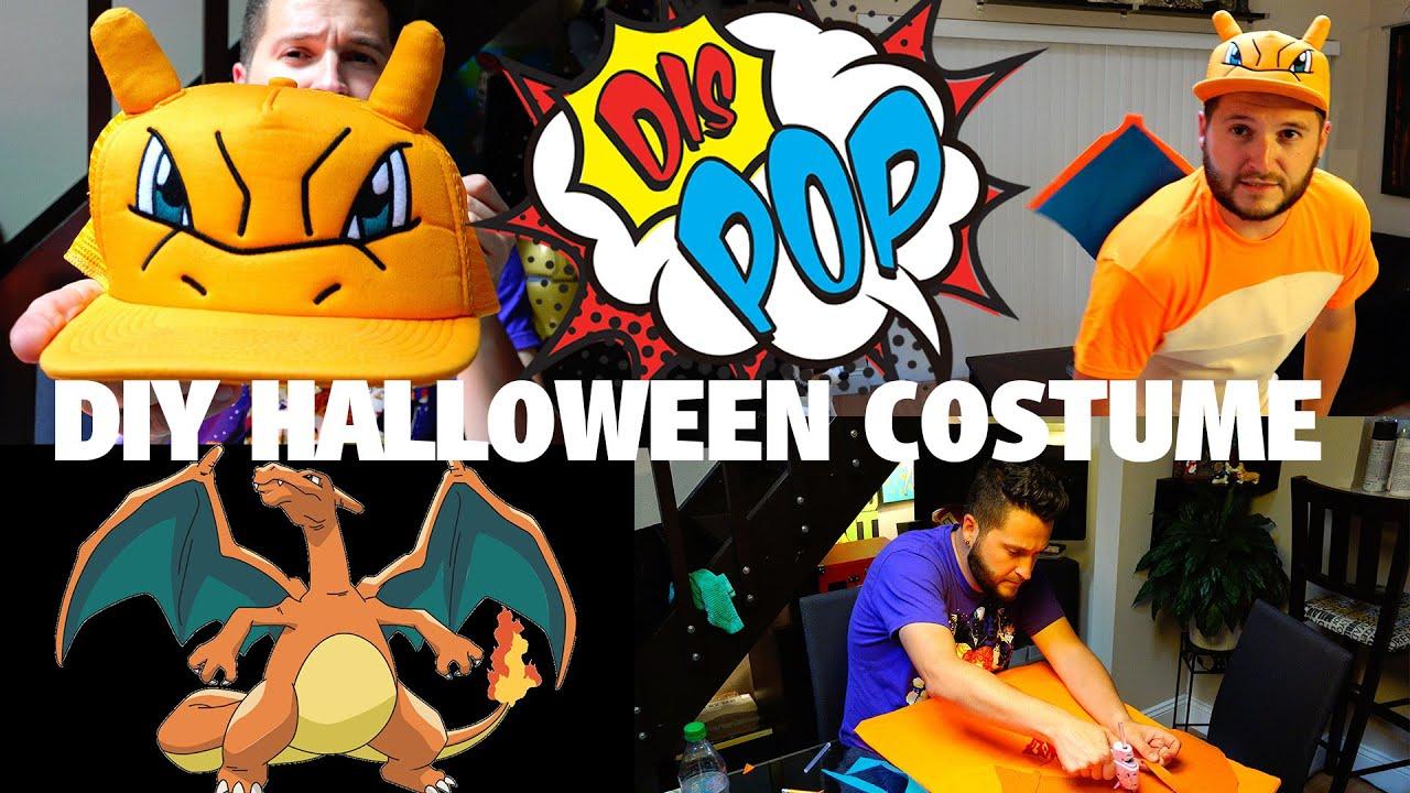 diy halloween costume on a budget (feat. charizard) | dis pop | 09