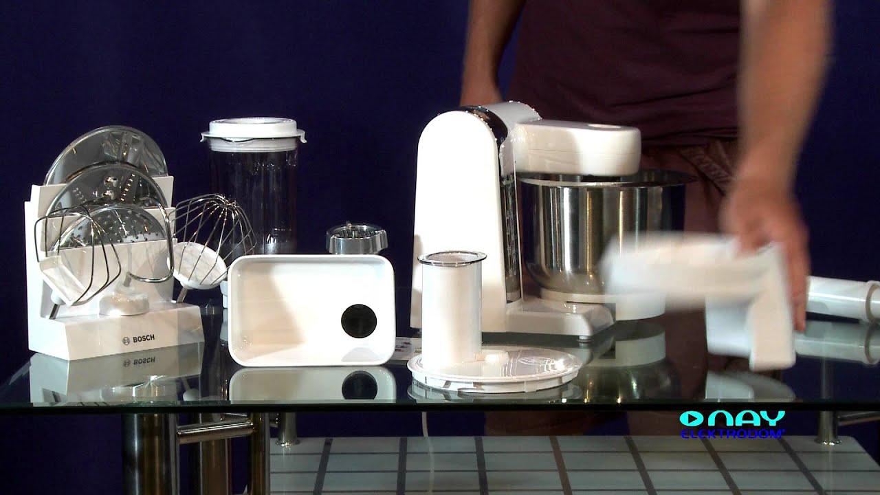 Kuchynsky Robot Bosch Mum48cr2 Nay Elektrodom Youtube