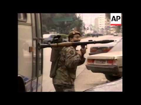 LEBANON: BEIRUT: RUSSIAN EMBASSY GRENADE ATTACK (2)