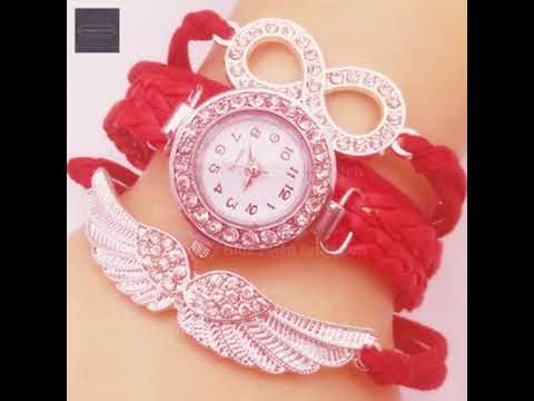 Women's Bracelet Watch Simulated Diamond Watch Diamond Watch Quartz Le 11/8/2019 19:29