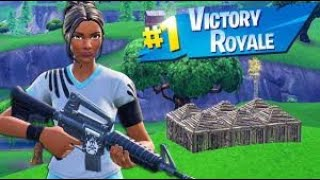 How to get a win in fortnite in 2019 NOT CLICK BAIT!!!!!