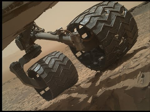 Mystery Object Stuck In Curiosity Rover's Wheel ~ 4/26/2019