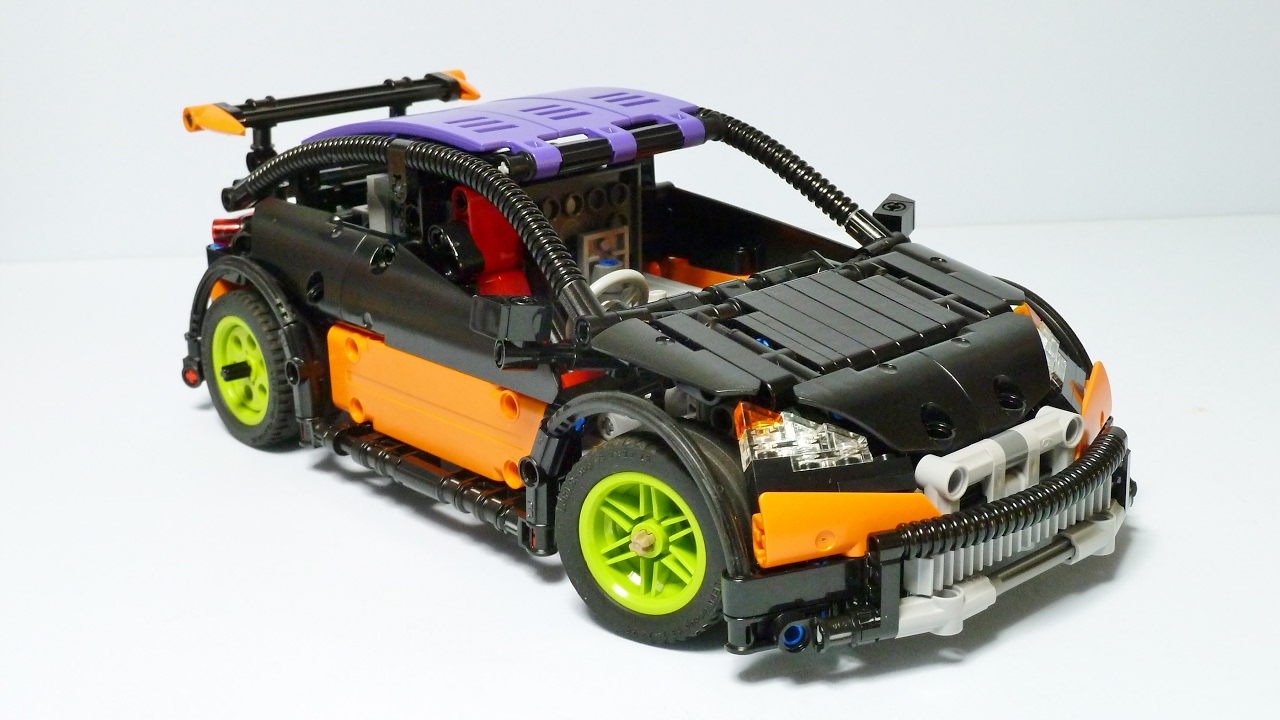 lego technic hatchback type r with sbrick youtube. Black Bedroom Furniture Sets. Home Design Ideas