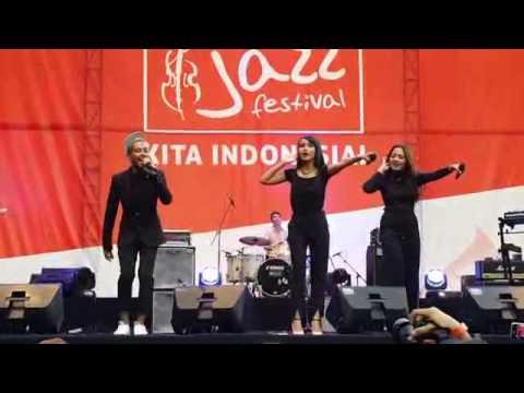 Bahagia - Gamaliel Audrey Cantika at Jazz Festival