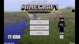 Minecraft pe de nasıl düz dünya oluşturulur ?