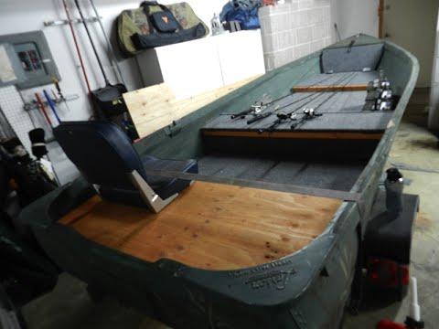 HOW TO V Hull Jon Boat Conversion YouTube