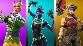 THE BEST SKINS OF ALL TIMES - TOP 15 OUTFITS - FORTNITE BATTLE ROYALE ENGLISH