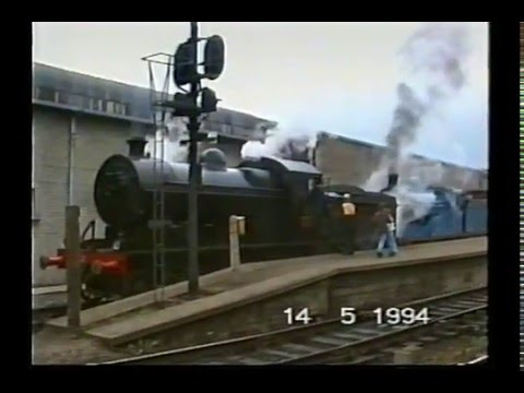 Steam Tour Dublin to Galway  with 171 & 461.1994