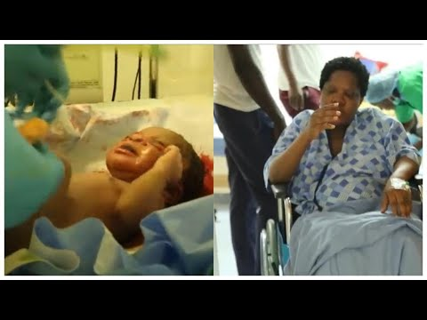 Download Toyin Abraham Breaks The Internet On Mother's Day With Her Child, Ire's Delivery Video