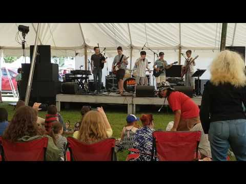 Jamschool at the Guelph Multicultural Festival 2016