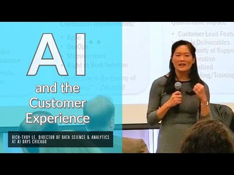 AI & Customer Experience | Bich-Thuy Le, Director of Data Science ...