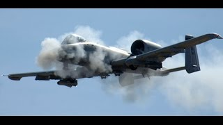 Awesome A-10 Warthog Gun Run Brrrt Compilation - Happy Brrrt Day Special