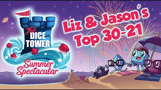 Liz & Jason's Top 30-21 Games