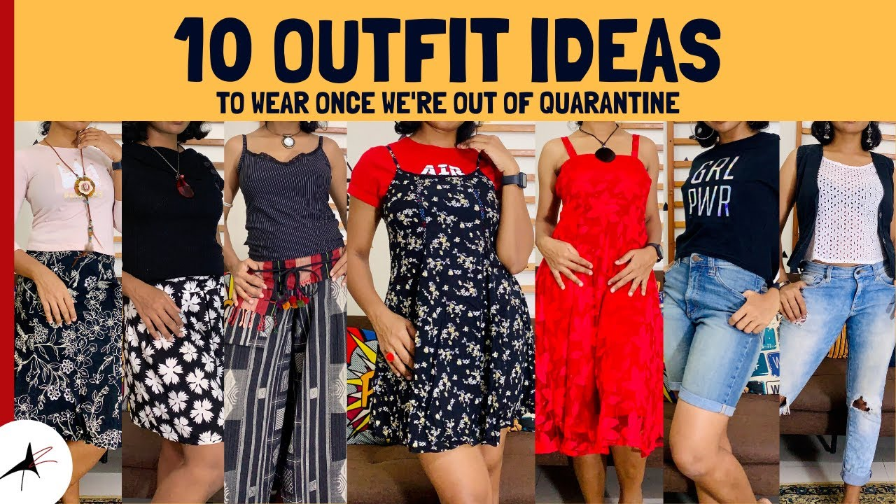 Casual Summer Outfit Ideas 2020 | 10 After Quarantine/Lockdown OUTFIT IDEAS!!
