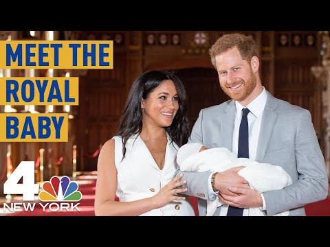 Meghan Harry Make 1st Public Appearance With Royal Baby Archie  NBC New York