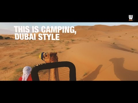 What's On tries… glamping in the Dubai Desert Conservation Reserve