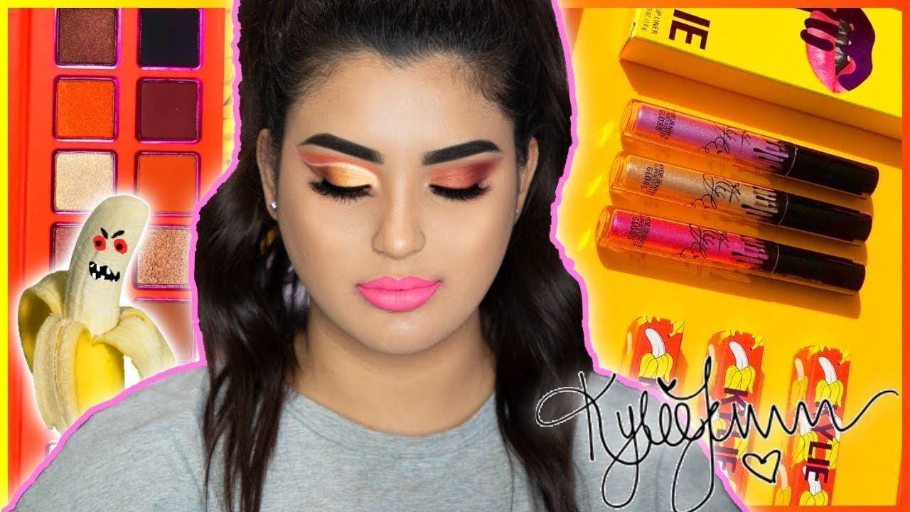 Reseña de Kylie Cosmetics  Tutorial de maquillaje con su colección de verano