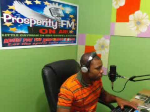 """""""PRAISE WITHOUT LIMIT'' 24,11, 2013 ON PROSPERITY FM IN CAYMAN WITH DJ ROBERT"""