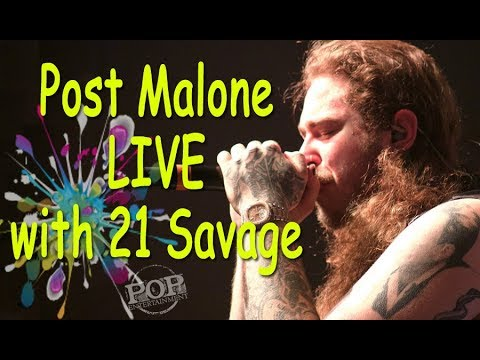 Post Malone LIVE! Philly Set- White Iverson + Congratulations + Rockstar & MORE!