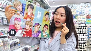 АЙДОЛЫ В КОРЕЕ / BTS /  ШОПИНГ В КОРЕЕ / ОБЗОР НА K-POP STUFF |NikyMacAleen