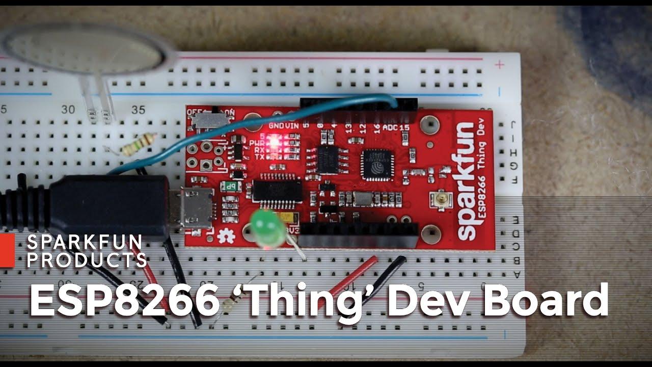 SparkFun ESP8266 Thing - Dev Board - WRL-13711 - SparkFun