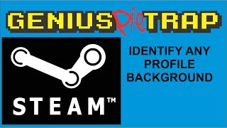 Identify Any Steam Profile Background