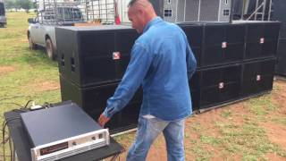 TK TONKOON Power Amp Class G มหกรรมเครื่องเสียงรากหญ้าน้ำพอง 2 2560