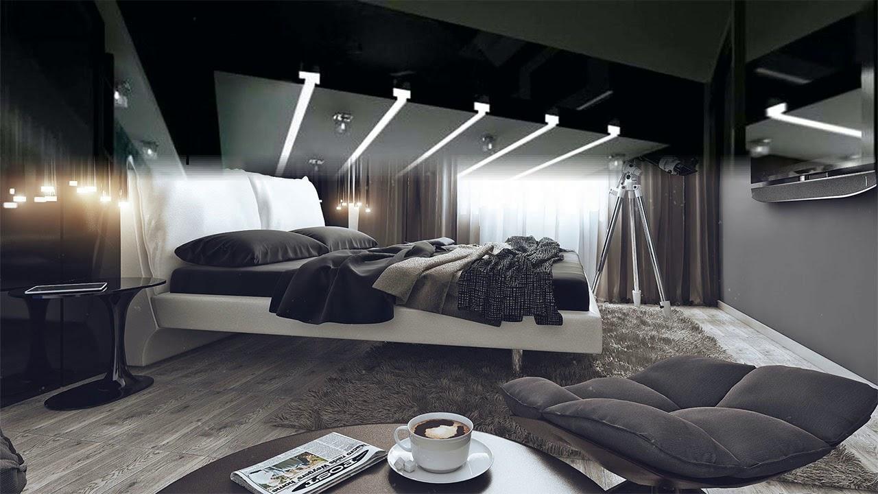 Modern Black Bedroom Ideas Room Ideas Youtube