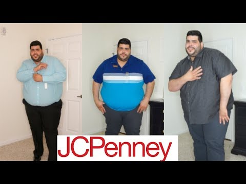 Mens Big & Tall Try-On Haul ft. JcPenney!