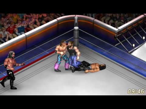 Fire Pro Wrestling World - The Elite vs. The Shield